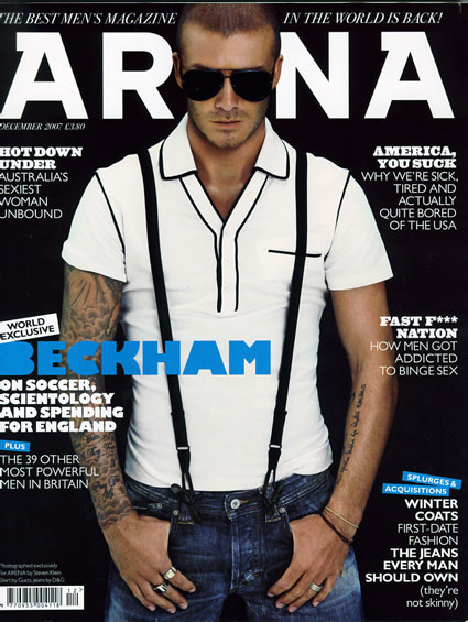 British Men's Mag Arena to Shutter After 22 Years