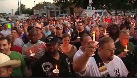 Agents on Desk Duty After Raid; Vigil Held at Fort Worth Gay Bar