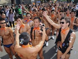 Taipei, Taiwan, held its seventh annual Gay Pride on Saturday and 25,000 ...