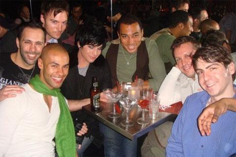 Adam Lambert Pays a Visit to NYC Gay Bar Splash