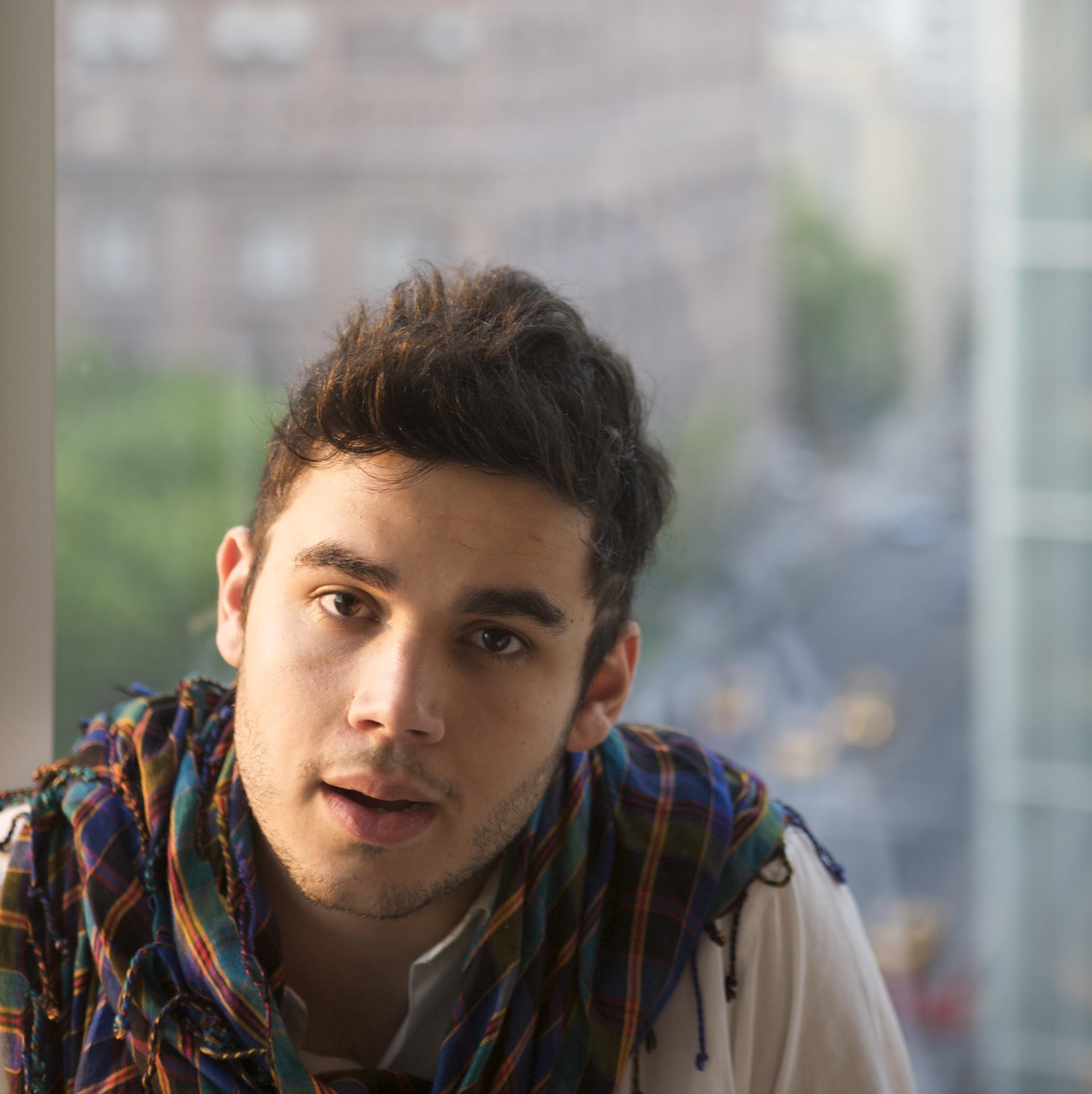Rostam Batmanglij (openly gay member of Vampire Weekend)