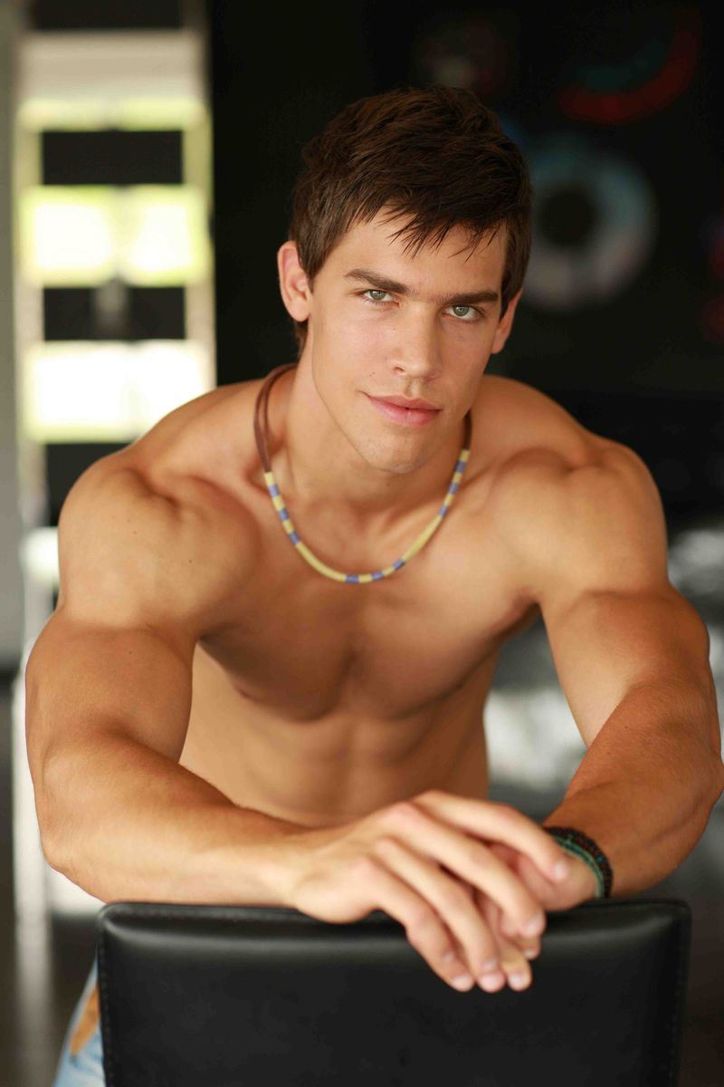 Bel Ami star Kris Evans. T: Will you stop making DVDs and go all-download?