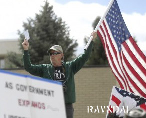 ... as the leader of a new Tea Party group based out of Helena, Montana: