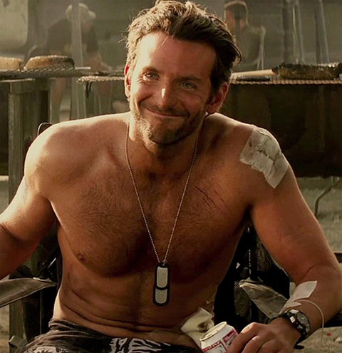 Bradley Cooper Fantasized About (Being) the Soloflex Guy