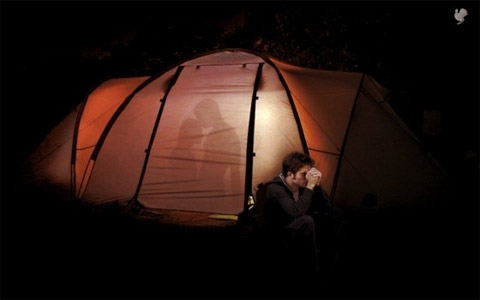 gay one man tent