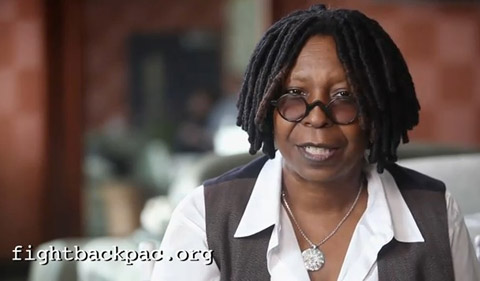 Whoopi Goldberg is featured in the latest spot from Fight Back NY.