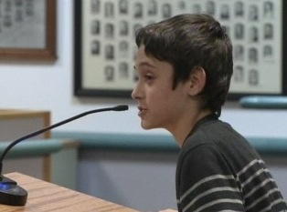Watch: Young Gay Student Defends Teacher At School Board Meeting