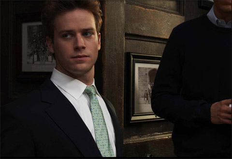Social Network's Armie Hammer to Play Gay Opposite Leonardo DiCaprio in J. ...