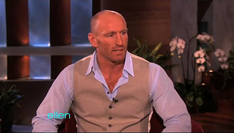 Watch: Gay Rugby Icon Gareth Thomas Talks Coming Out on 'Ellen'