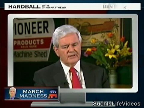 newt gingrich wives. Watch: Newt Gingrich Says He