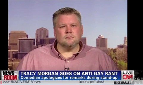 CNN Speaks to Kevin Rogers, Who Exposed Tracy Morgan's Anti-Gay Rant on ...