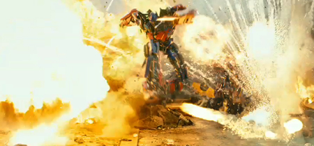 Transformers-explosions