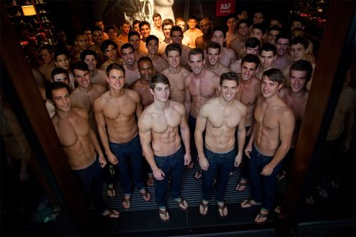 Abercrombie's Holiday Sex Club is Perky and Waiting for You