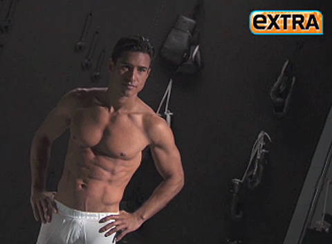 Mario Lopez has a new underwear line called 'Rated M'.