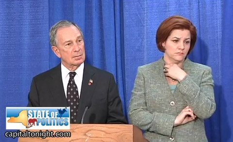 Watch his presser with NYC City Council Speaker Christine Quinn, ...