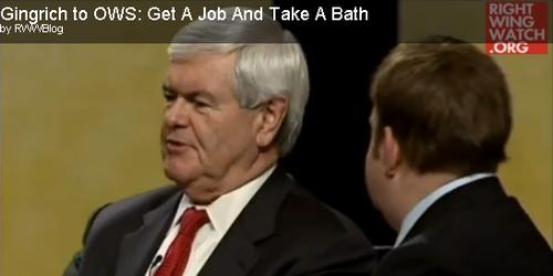 GingrichTakeABath