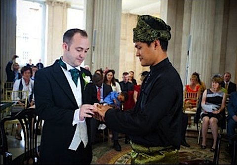 Gay Malaysian Man's Wedding in Ireland Sparks Fury at Home, ...