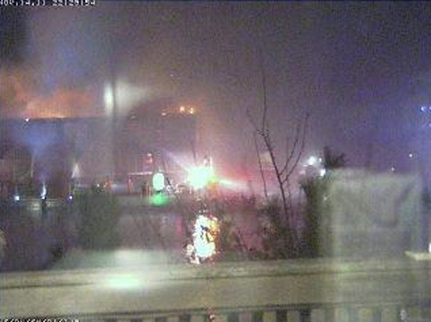 , UPDATED  PAVILION COMPLEX ENGULFED IN FLAMES Two Buildings on Fire In Fire Island Pines  4 PHOTOS,