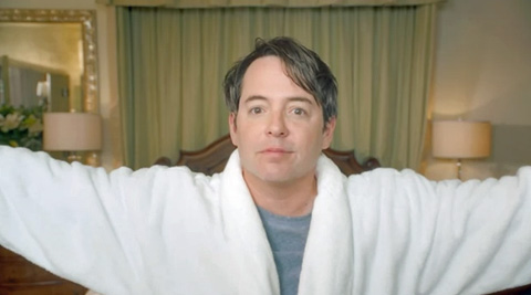 Posted 6:53 PM EST by Andy Towle in Advertising, Matthew Broderick, News, ...