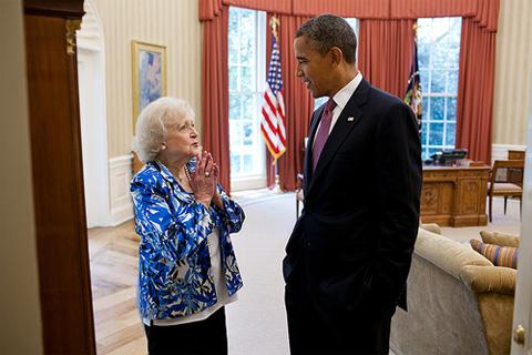 Bettywhite_obama