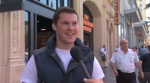 Jimmy Kimmel Asks Pedestrians if They've Had a Gay Experience: VIDEO