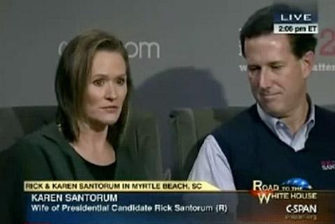 Karen_rick_santorum