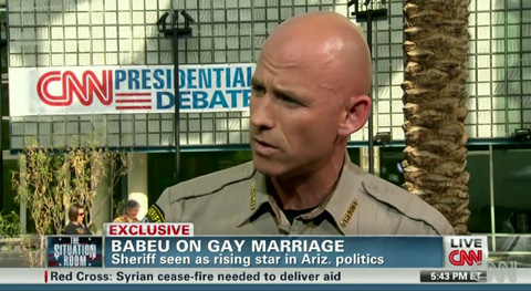 Sheriff Paul Babeu Talks to CNN About Gay Rights, His Ex-Boyfriend's ...