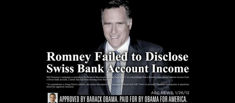 Obamas new campaign ad hits Romney on job outsourcing and corporate ...