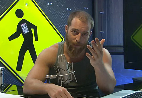 Adam Kokesh Has a Few Thoughts on the NFL and Gay Players: VIDEO