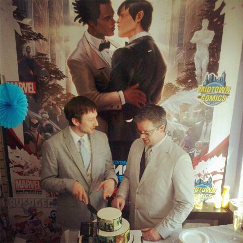 As Marvel Superhero Northstar Weds His Boyfriend, Gay 'X-Men' Fans Follow ...