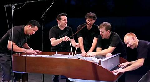 5 guys 1 piano - The piano guys
