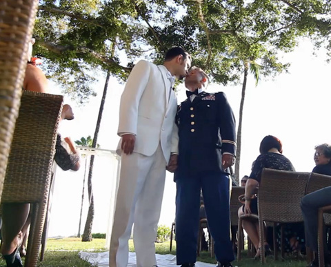 Gay Wedding Video of the Day: Kenton and Johnny