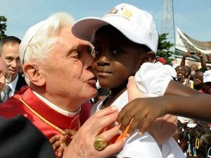 Pope Benedict Kissing Child near the lips sexual abuse Catholic church boundaries