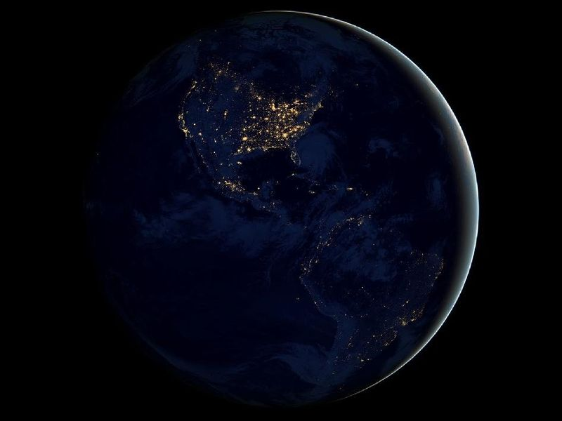 Earth at night-1