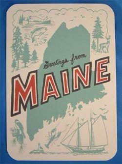 Maine-postcard
