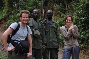 Clark Harding in Uganda