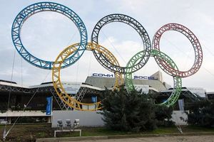 Sochi Olympic Rings