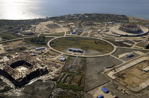 Sochi construction