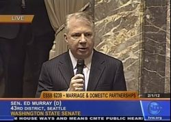 Ed Murray Senate Floor