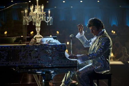 Behind-piano