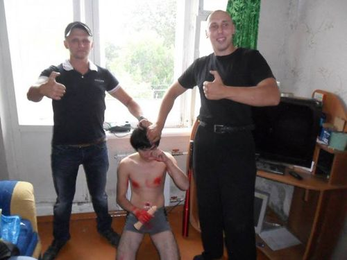 Russian Skinheads Attack Gay Teens