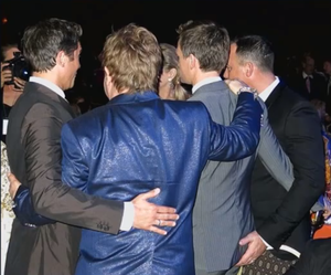David Furnish NPH Butt Grab