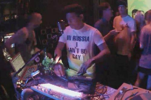 DJ Protests Russia