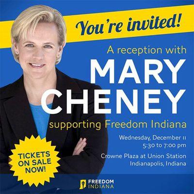 Mary Cheney flyer