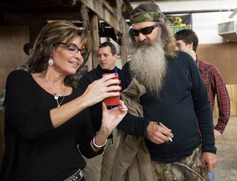 Sarah Palin Phil Robertson