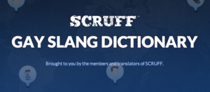 Scruff Gay Slang Dictionary