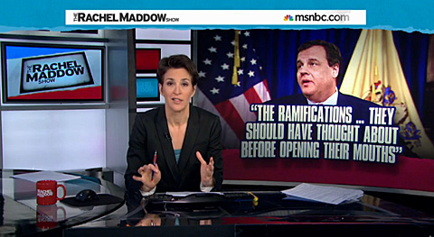 Five Problems With Rachel Maddow's Alternative Theory For Bridgegate