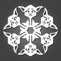 Yoda snowflake