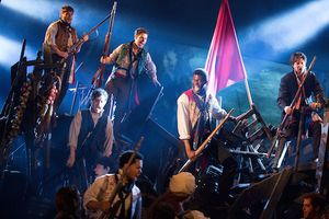 1. A scene from LES MISERABLES.  Photo by Matthew Murphy