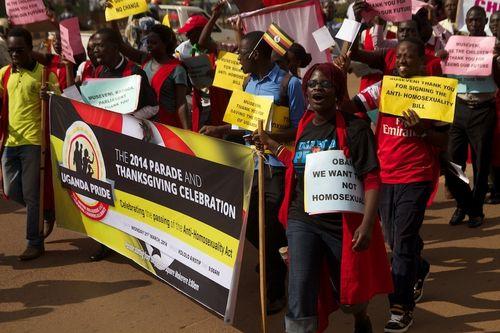 Uganda rally